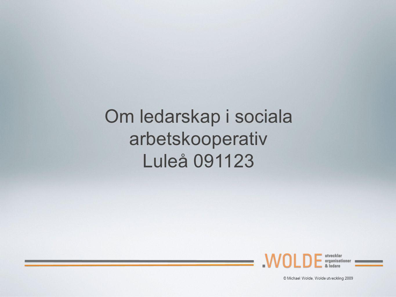 arbetskooperativ Luleå 091123