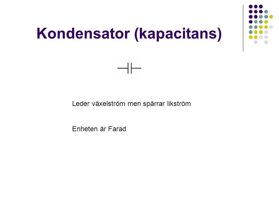 Kondensator (kapacitans)