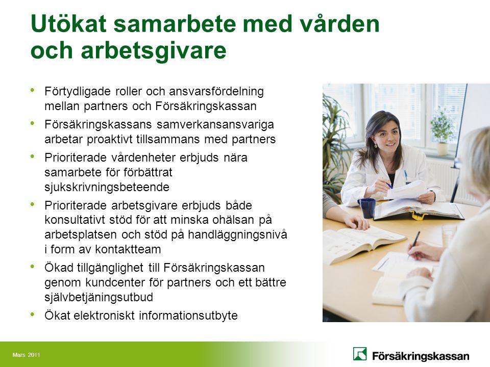 Utökat samarbete med vården och arbetsgivare