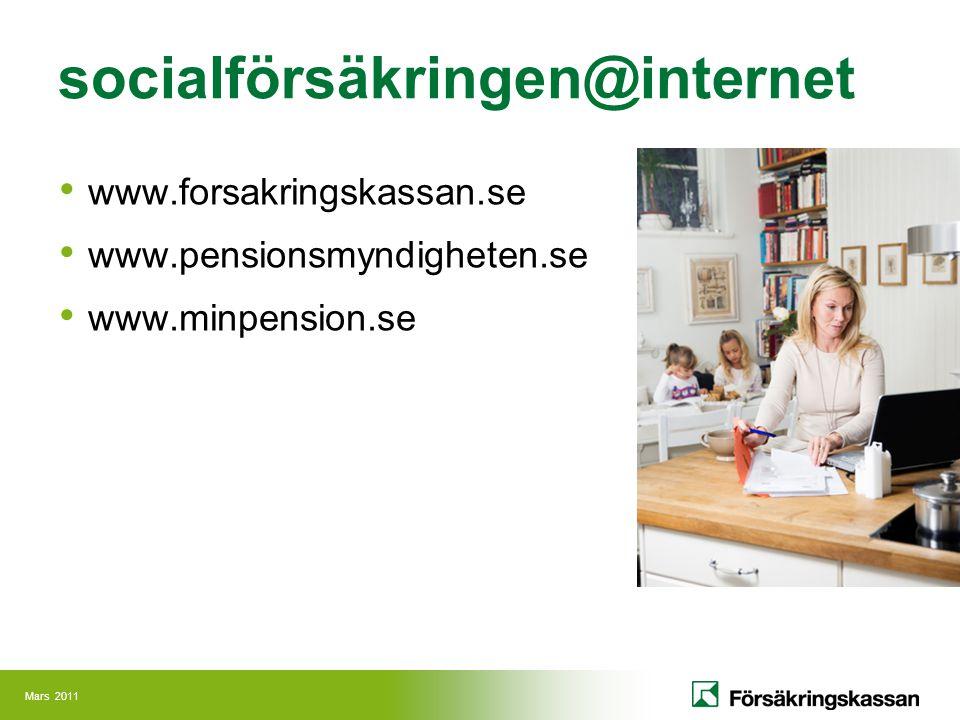 socialförsäkringen@internet