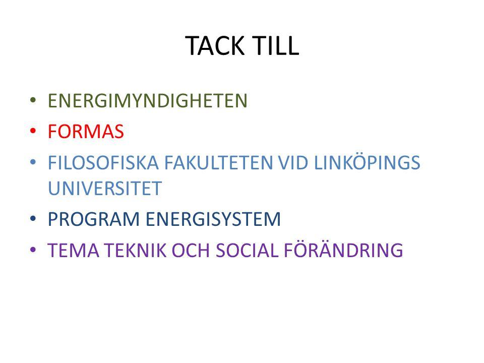 TACK TILL ENERGIMYNDIGHETEN FORMAS