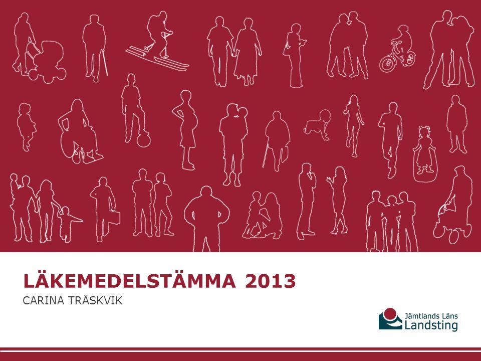 Läkemedelstämma 2013 Carina Träskvik
