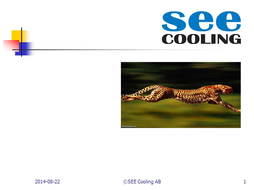 2017-04-06 ©SEE Cooling AB