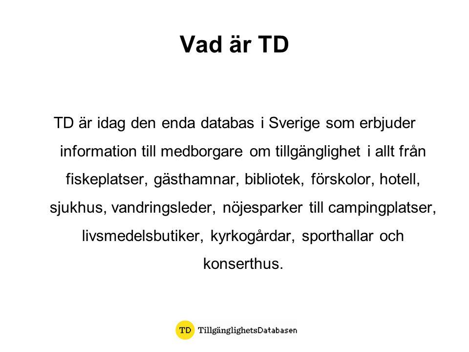 Vad är TD