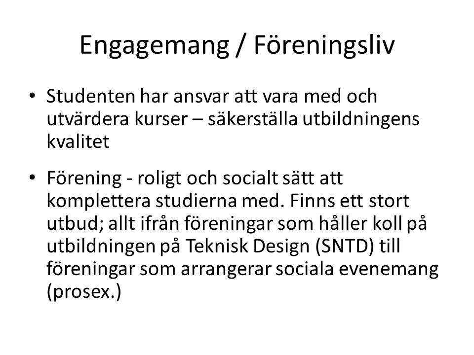 Engagemang / Föreningsliv