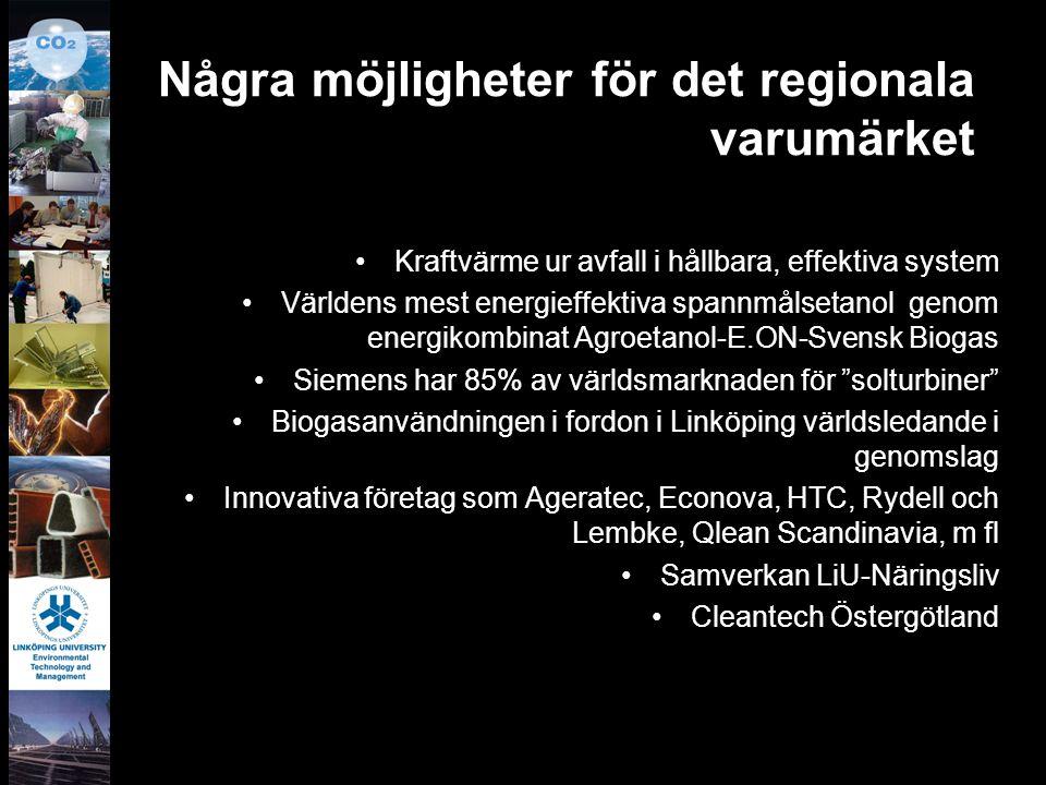 Några möjligheter för det regionala varumärket