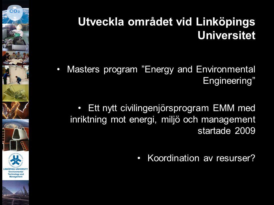 Utveckla området vid Linköpings Universitet