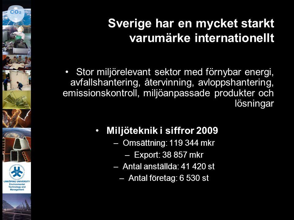 Sverige har en mycket starkt varumärke internationellt