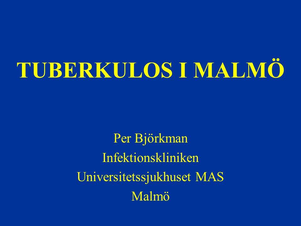 Per Björkman Infektionskliniken Universitetssjukhuset MAS Malmö