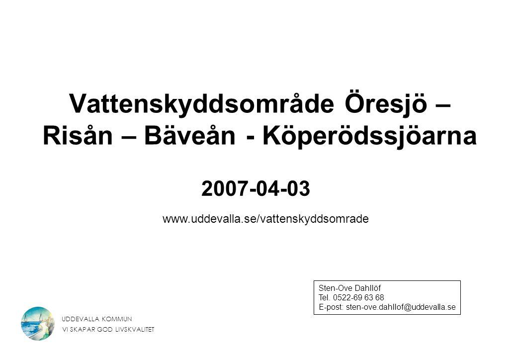 Vattenskyddsområde Öresjö – Risån – Bäveån - Köperödssjöarna
