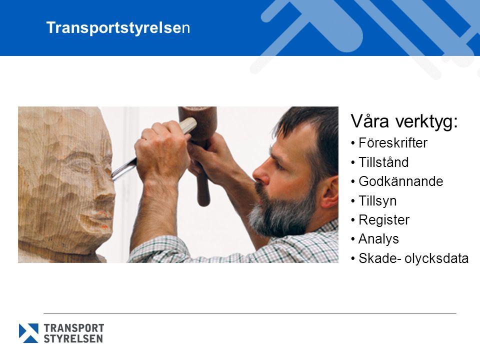 Våra verktyg: Transportstyrelsen Föreskrifter Tillstånd Godkännande
