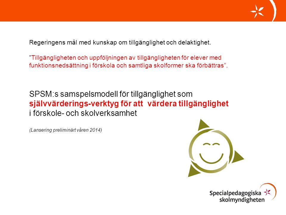 SPSM:s samspelsmodell för tillgänglighet som