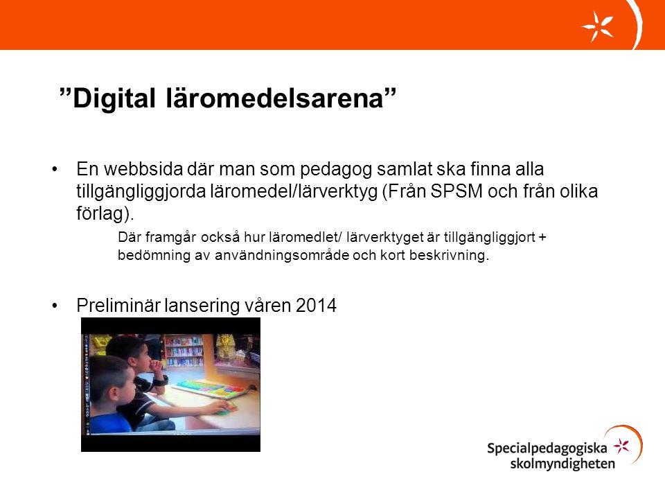 Digital läromedelsarena