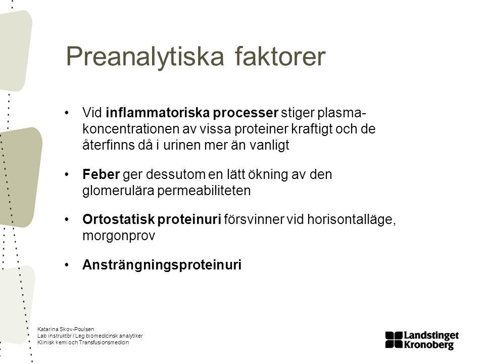 Preanalytiska faktorer