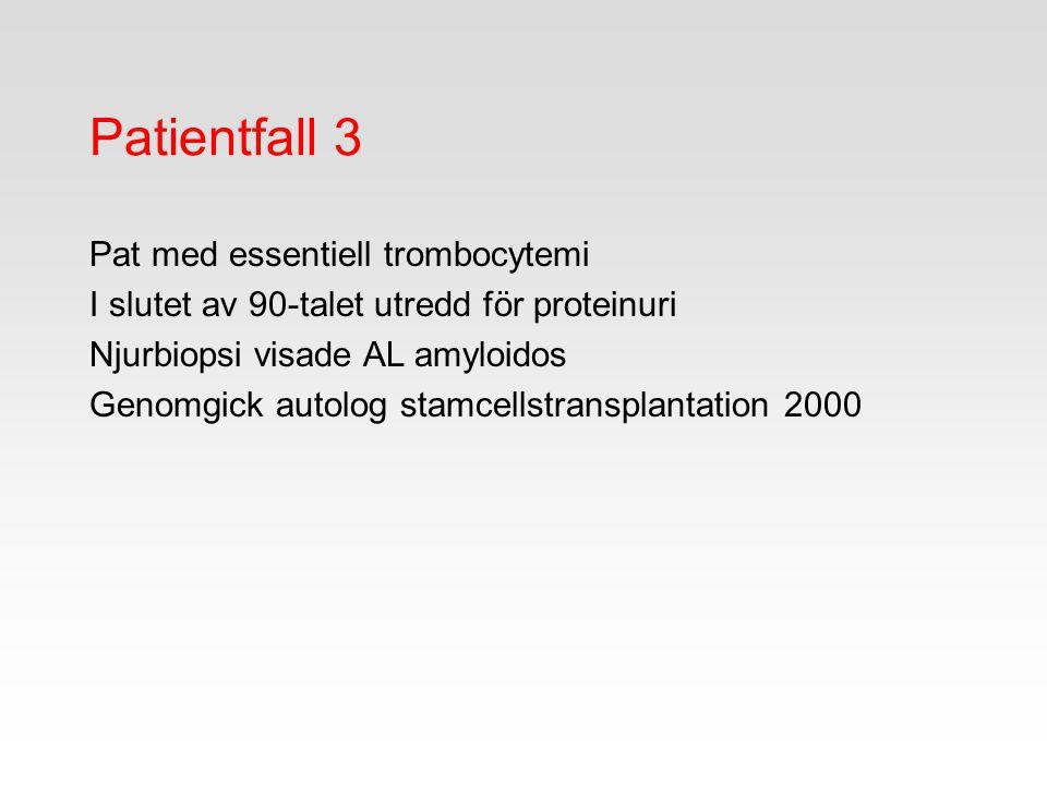 Patientfall 3 Pat med essentiell trombocytemi
