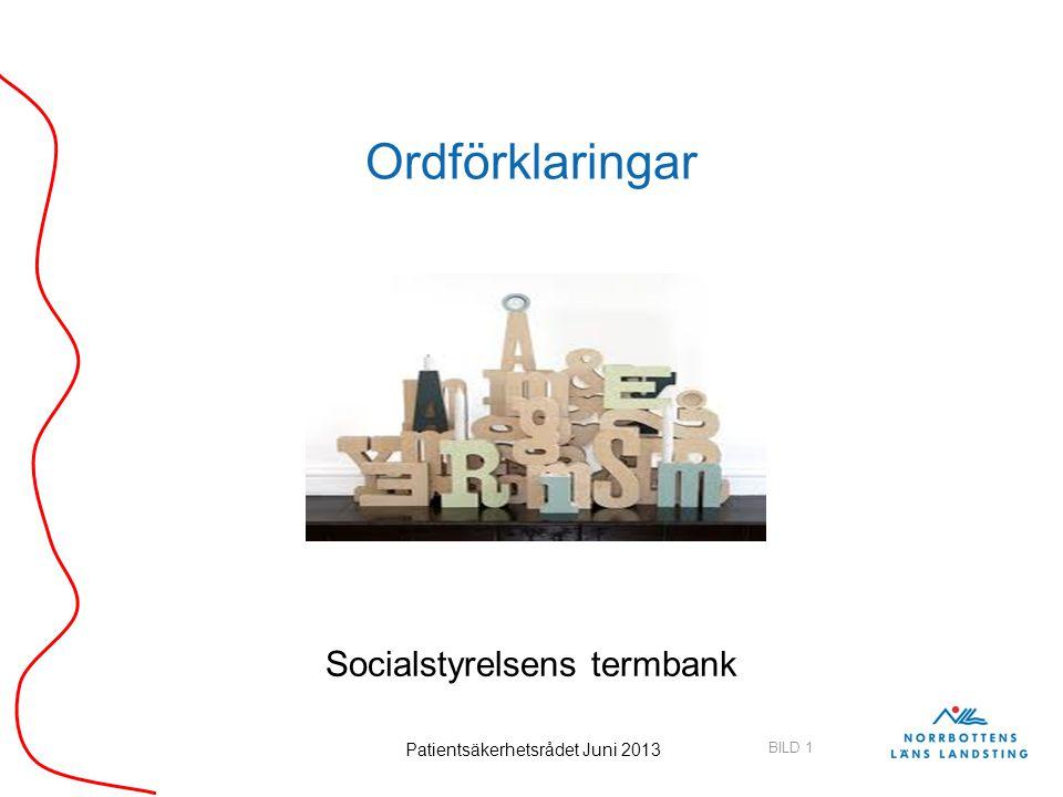 Socialstyrelsens termbank