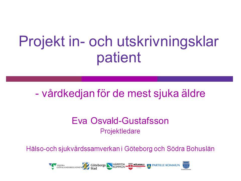 Projekt in- och utskrivningsklar patient