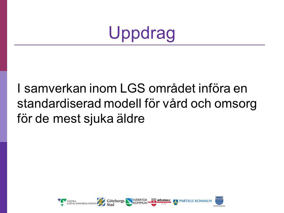 Uppdrag I samverkan inom LGS området införa en