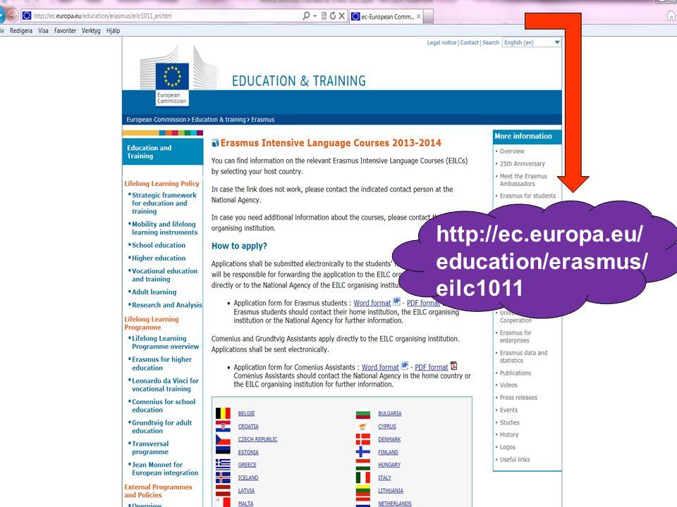2017-04-06 http://ec.europa.eu/education/erasmus/eilc_en.htm. http://ec.europa.eu/education/erasmus/eilc1011.