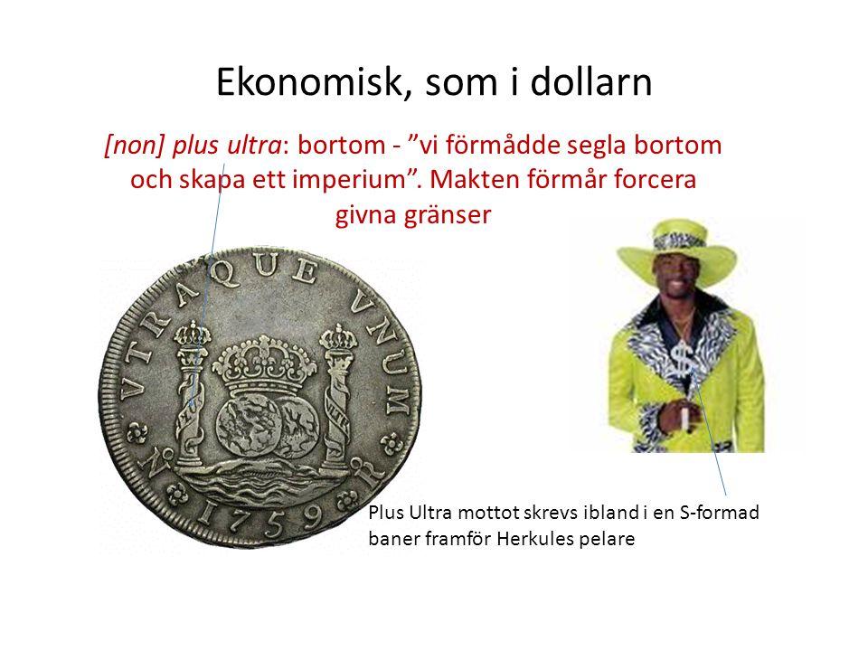 Ekonomisk, som i dollarn