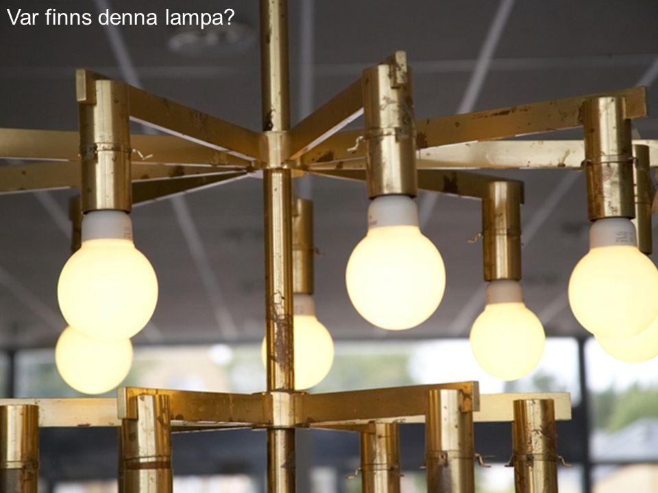 Var finns denna lampa
