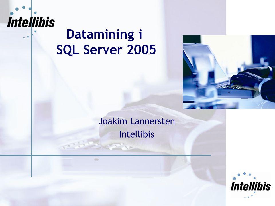 Datamining i SQL Server 2005