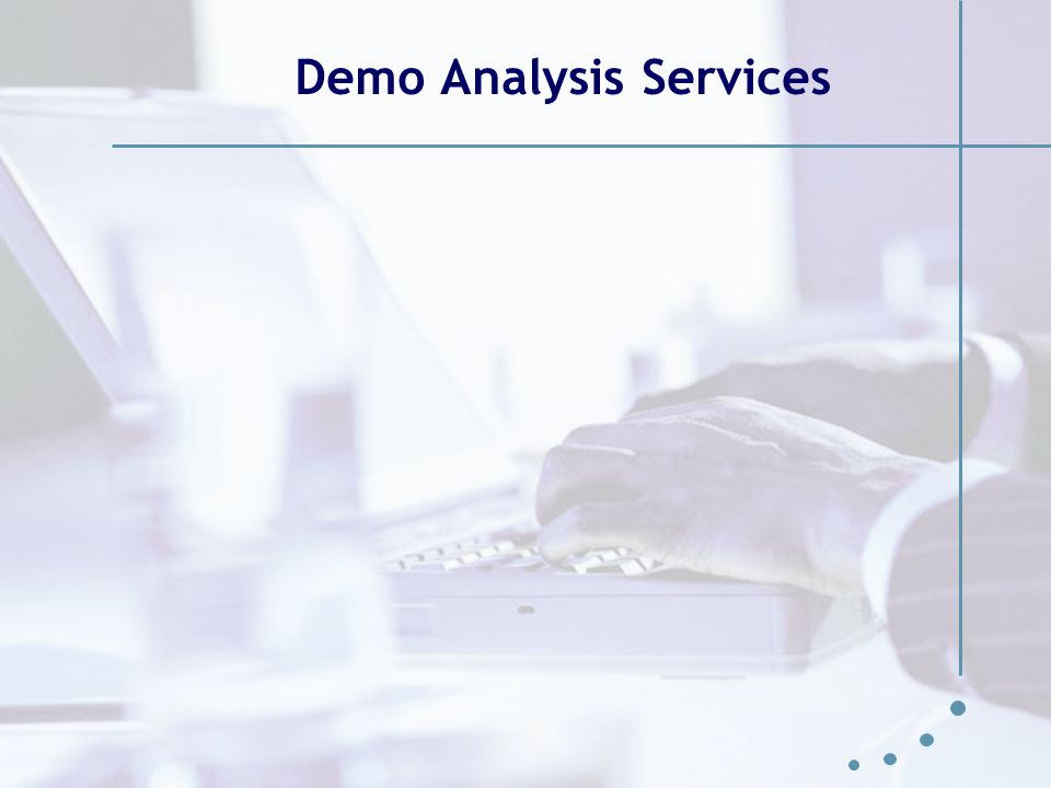 Demo Analysis Services