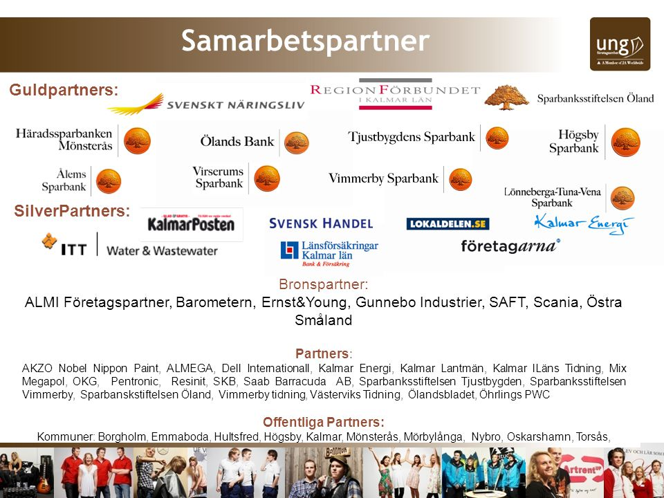 Samarbetspartner Guldpartners: SilverPartners: Bronspartner:
