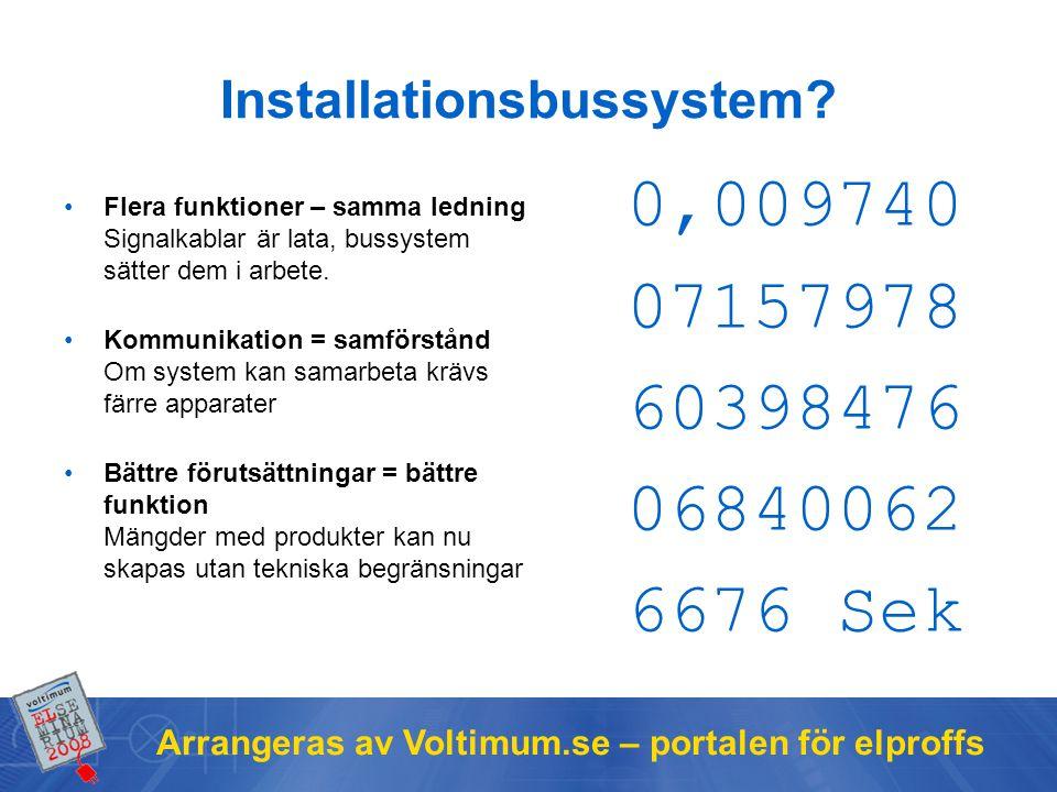 Installationsbussystem
