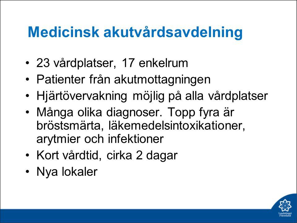 Medicinsk akutvårdsavdelning