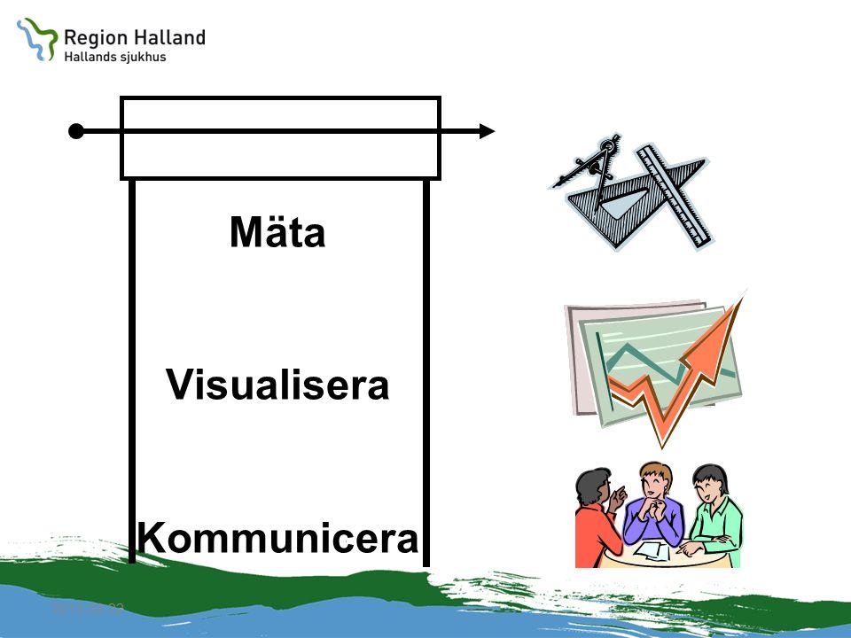 Mäta Visualisera Kommunicera