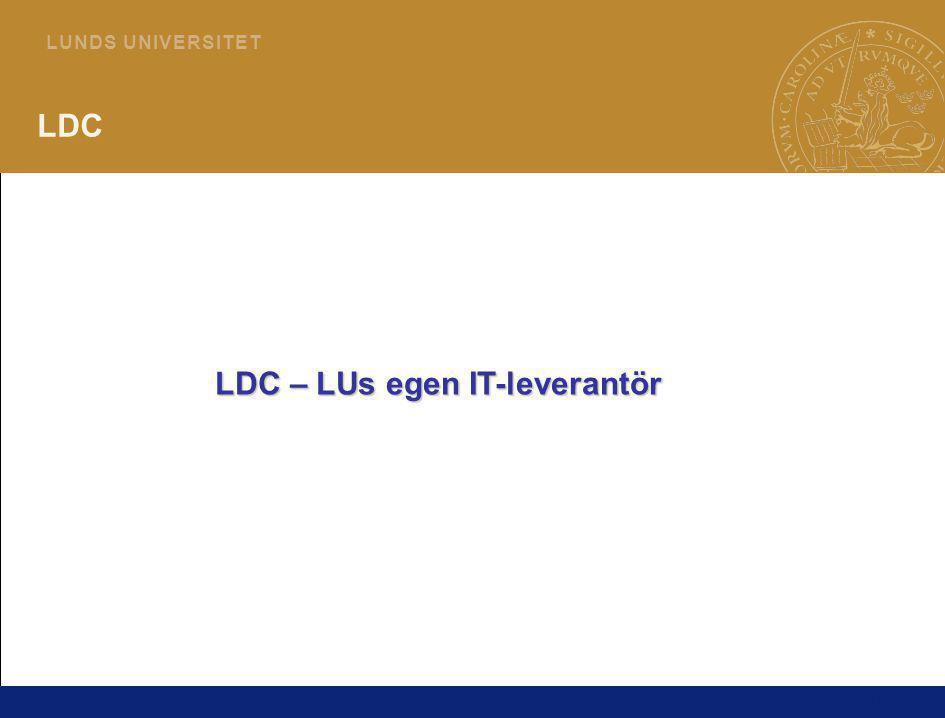 LDC – LUs egen IT-leverantör