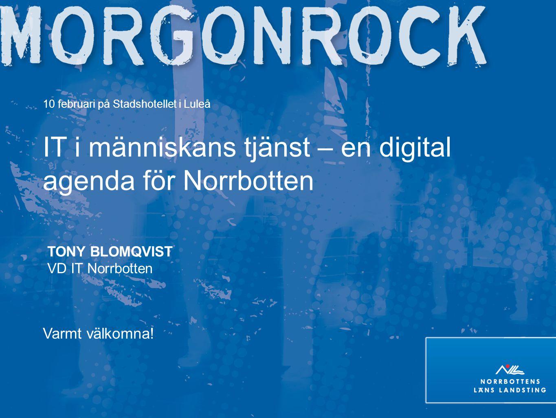 IT i människans tjänst – en digital agenda för Norrbotten