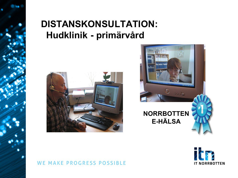DISTANSKONSULTATION: Hudklinik - primärvård