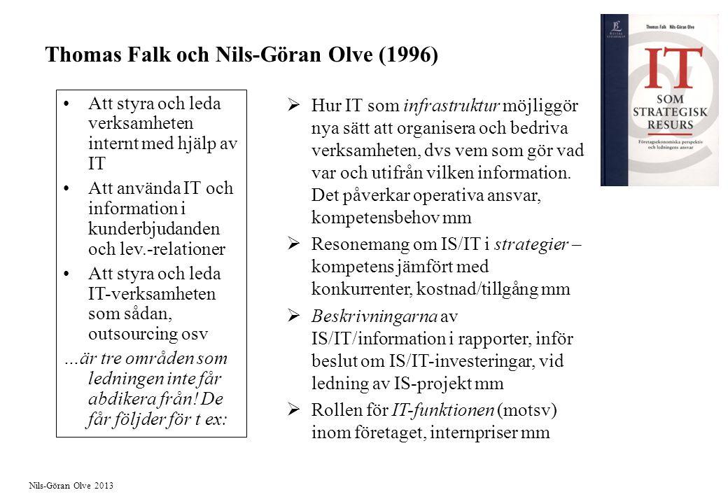 Thomas Falk och Nils-Göran Olve (1996)