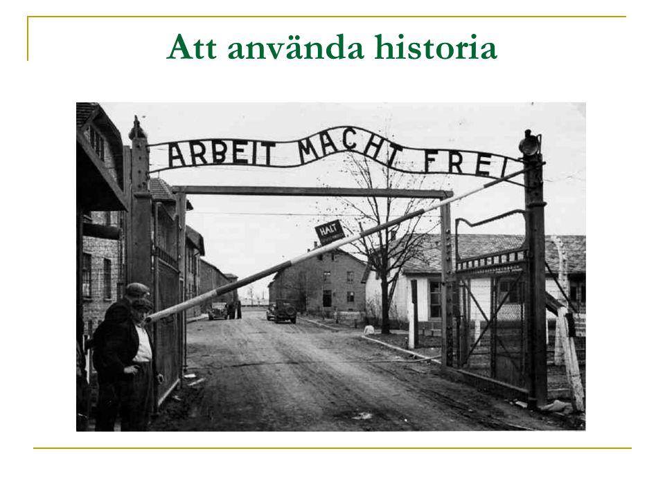 Att använda historia