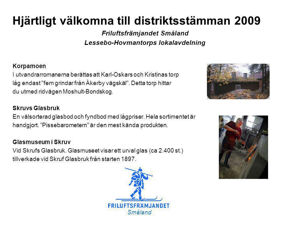 Friluftsfrämjandet Småland Lessebo-Hovmantorps lokalavdelning