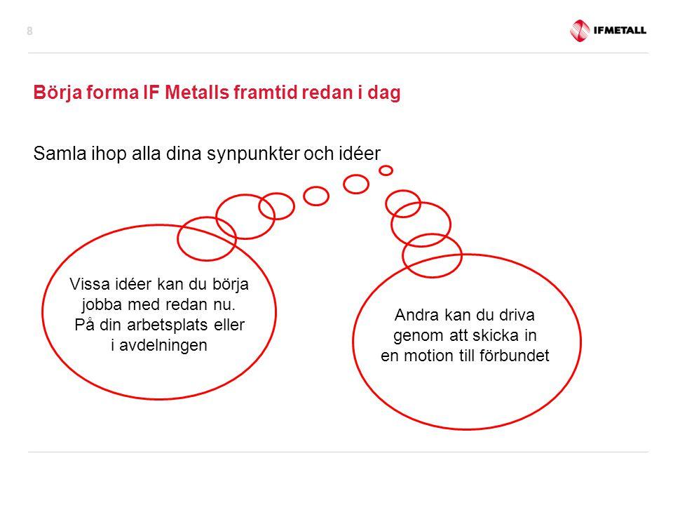 Börja forma IF Metalls framtid redan i dag
