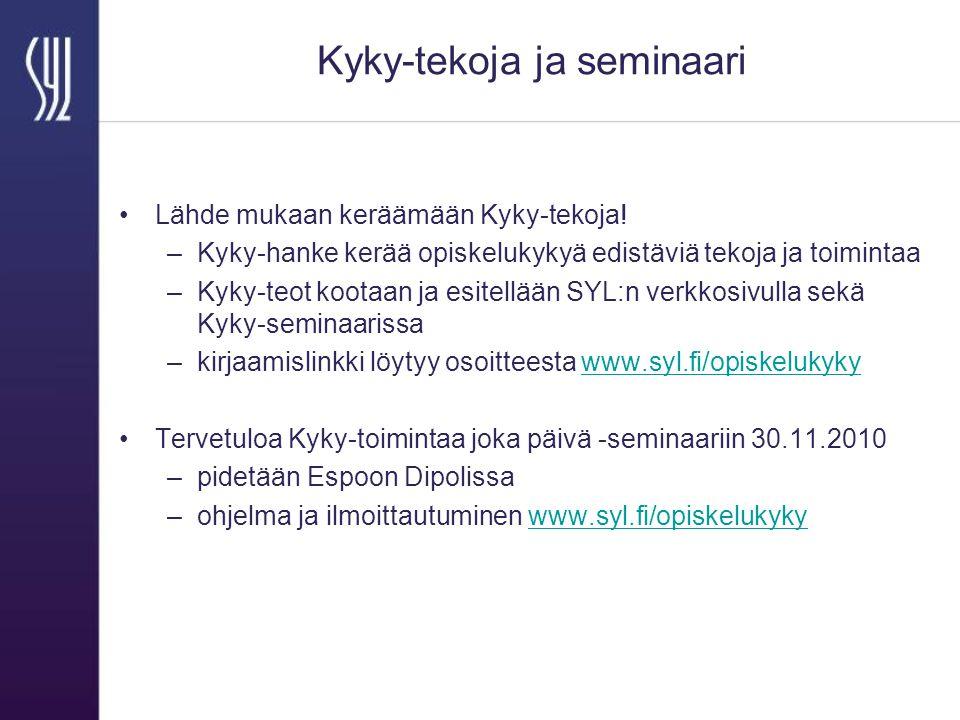 Kyky-tekoja ja seminaari