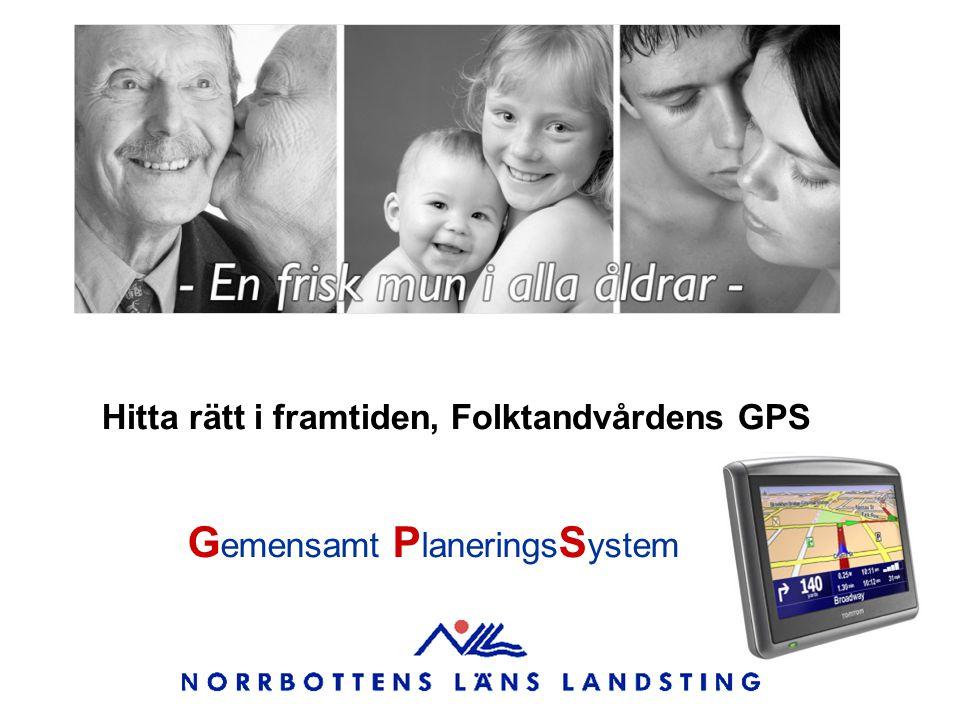 Hitta rätt i framtiden, Folktandvårdens GPS