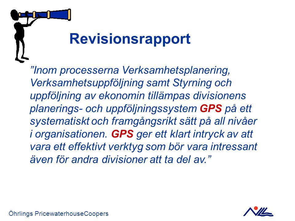 Revisionsrapport Inom processerna Verksamhetsplanering, Verksamhetsuppföljning samt Styrning och.