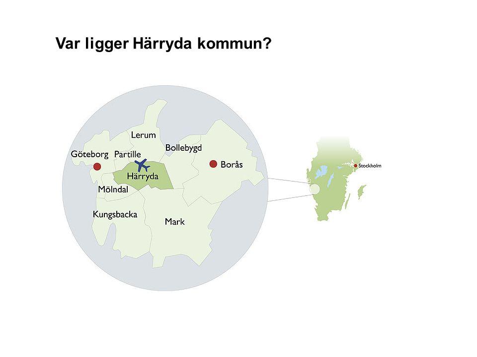 Var ligger Härryda kommun