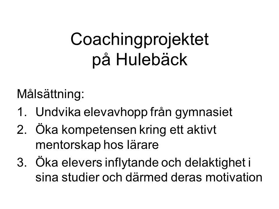 Coachingprojektet på Hulebäck