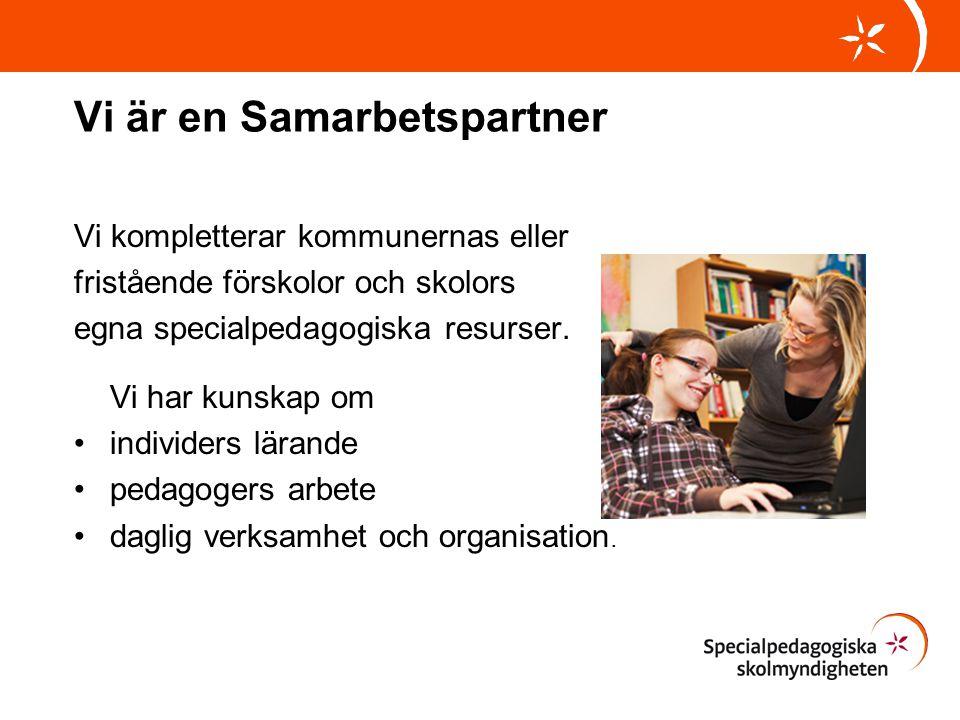Vi är en Samarbetspartner