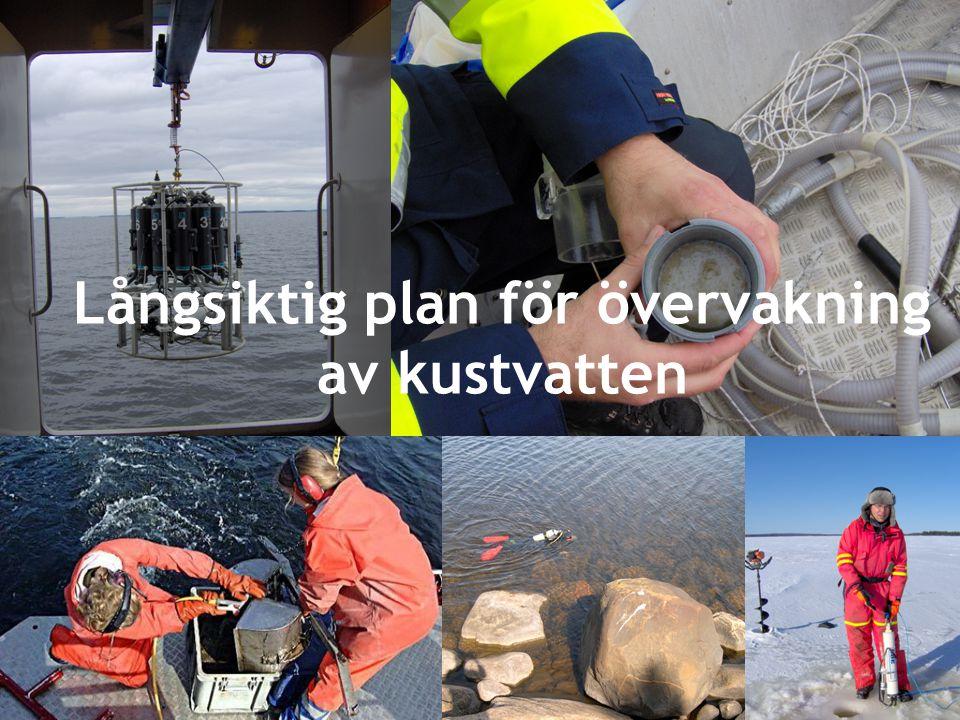 Långsiktig plan för övervakning av kustvatten