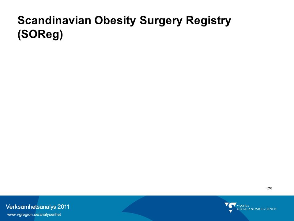 Scandinavian Obesity Surgery Registry (SOReg)