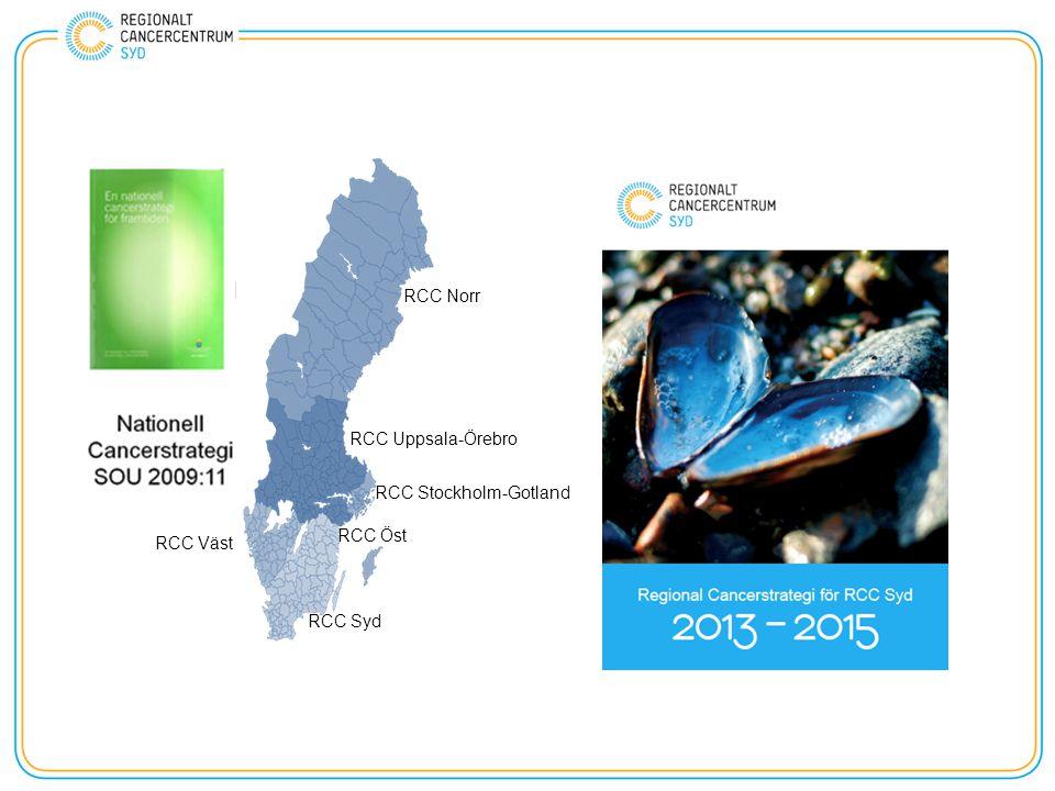 RCC Norr RCC Uppsala-Örebro RCC Stockholm-Gotland RCC Väst RCC Öst RCC Syd