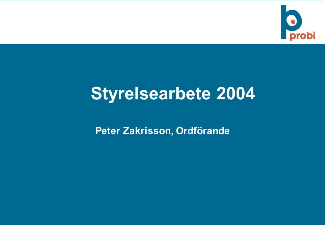 Peter Zakrisson, Ordförande
