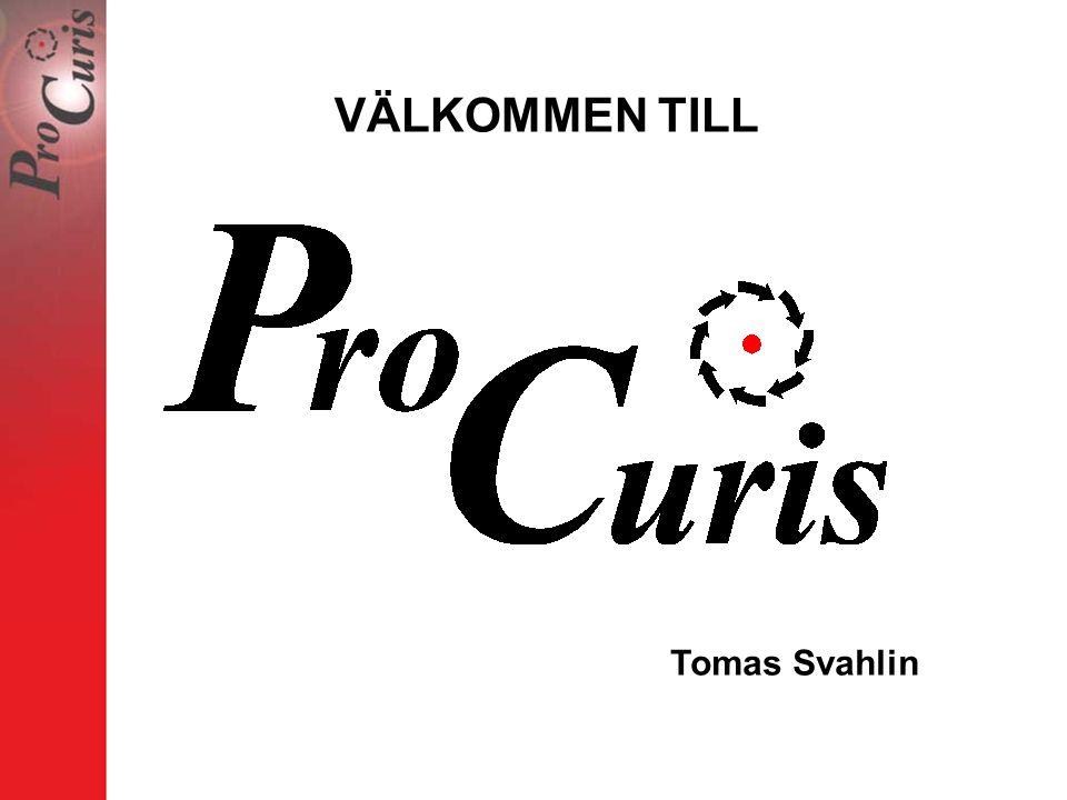 VÄLKOMMEN TILL Tomas Svahlin