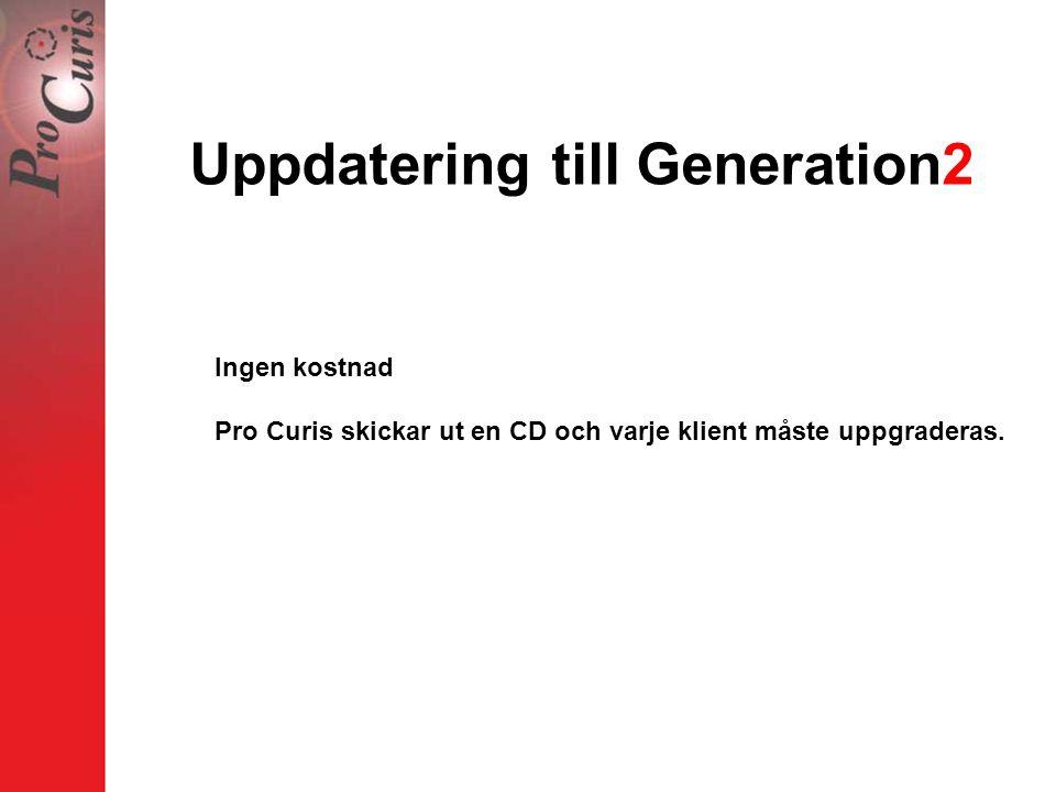 Uppdatering till Generation2